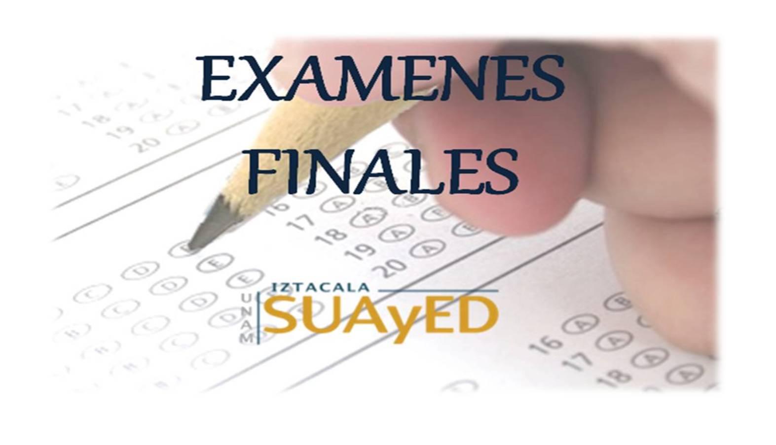 Calendario de Examenes Ordinarios