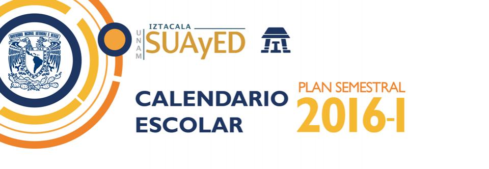 Calendario escolar 2016-1