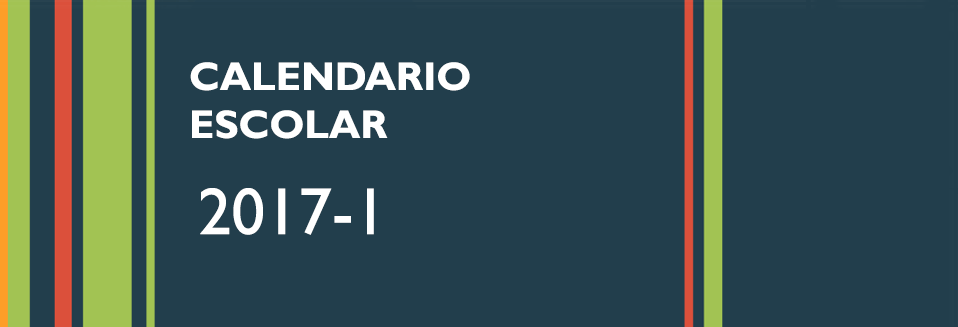 Calendario Escolar 2017-1