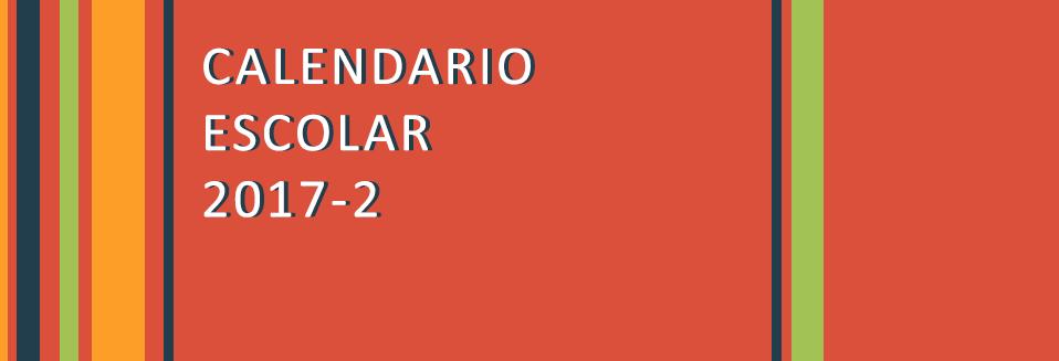 Calendario Escolar 2017-2